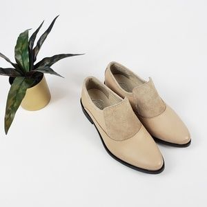🆕️ Free People Brady Slip-on Suede/Leather Loafer